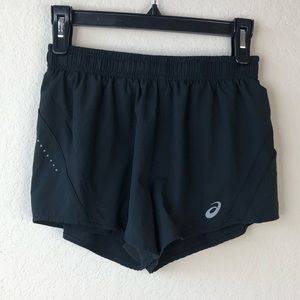 ASICs black shorts